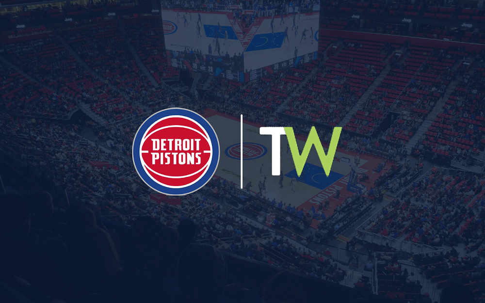 Detroit Pistons announce partnership with Teamworks