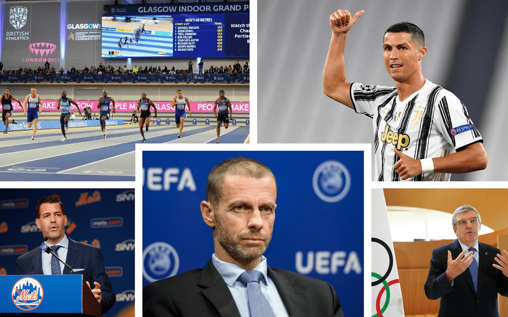 EFA's plan to continue with the 12-city Euros format, the IOC's 'Playbook' and the Premier League, Ronaldo and Barcelona the most popular in China
