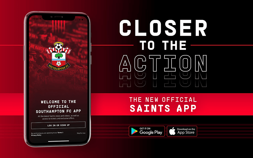 Southampton FC launches official mobile app