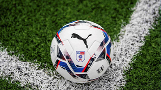Puma becomes the official match ball of the EFL
