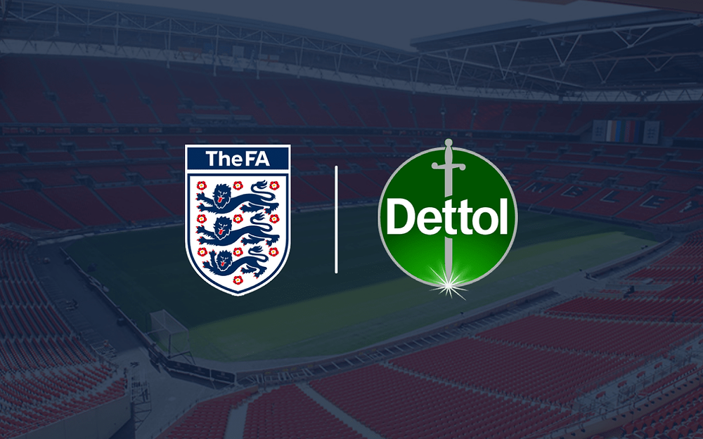 The English FA team up with Dettol to become official hygiene partner