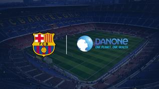FC Barcelona announce three-year Danone North America partnership