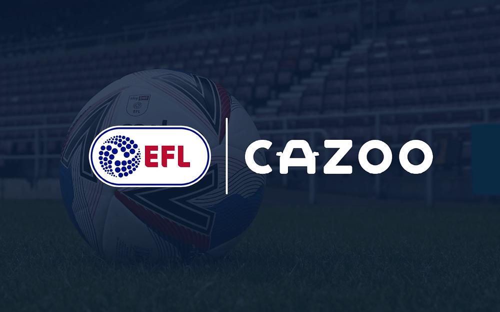 EFL announces multi-year partnership with Cazoo