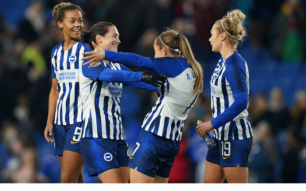 brighton & hove albion wfc women in football first corporate member