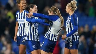 Brighton announced as Women in Football's first corporate member