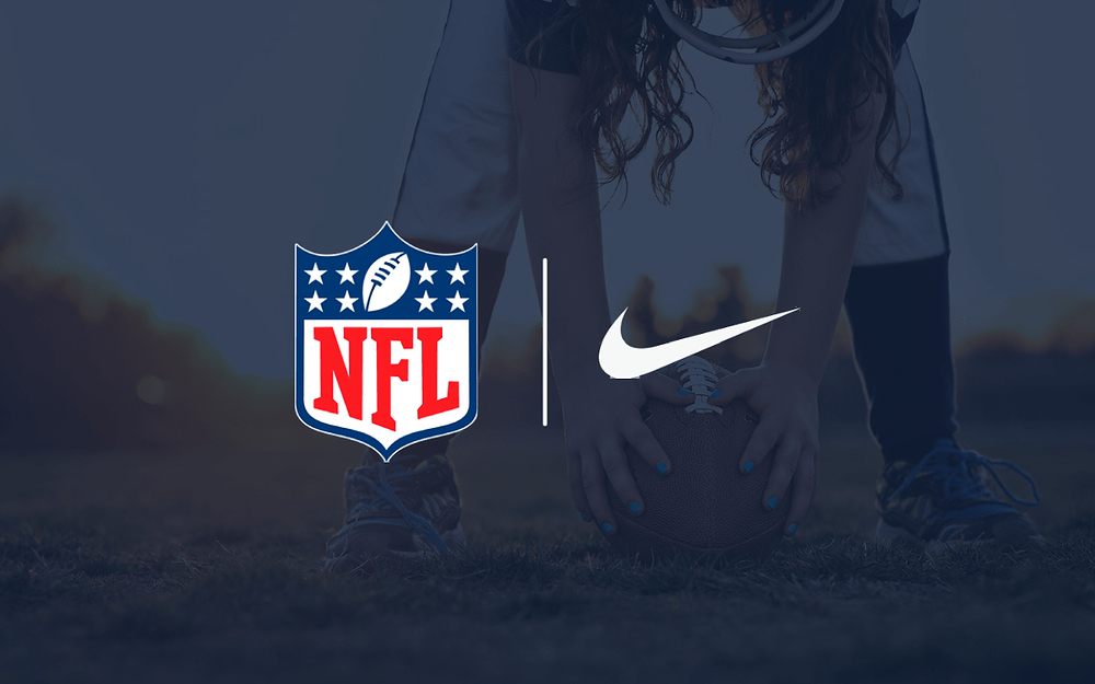 Nike partners with the NFL to grow girls flag football