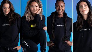 Women's sports stars launch 'Togethxr' media platform