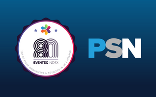 PSN among the Eventex 80 Best Event Organisers and Agencies in UK & Ireland for 2021