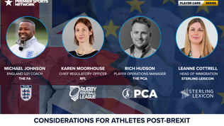 Considerations for Athletes Post-Brexit