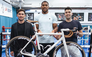Anthony Joshua and 258MGT launch cycling agency 258 protege