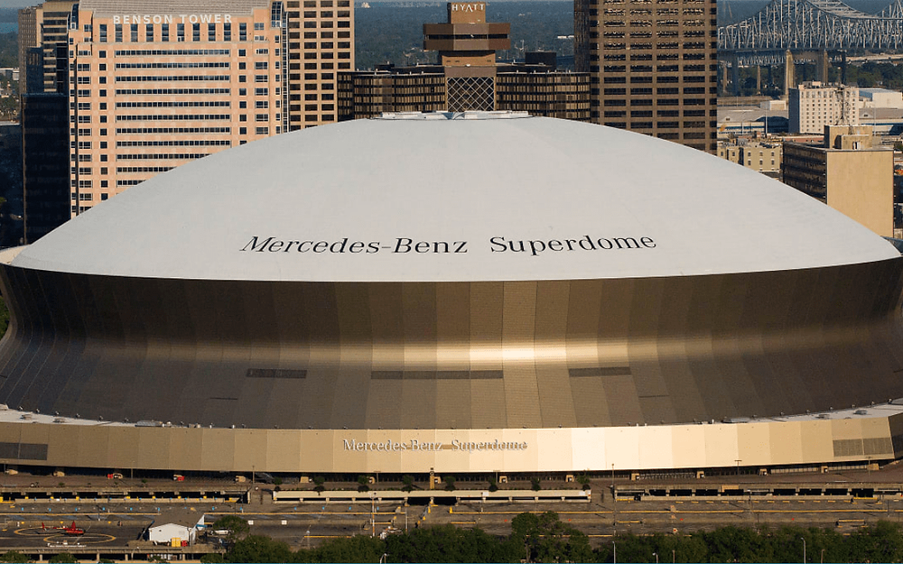 New Orleans Saints and Caesars Entertainment close in on US$200m Superdome naming rights deals