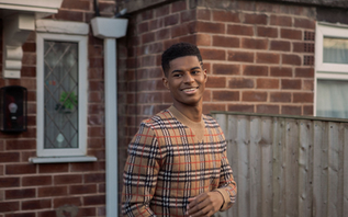 Burberry partners with Marcus Rashford to support youth around the world