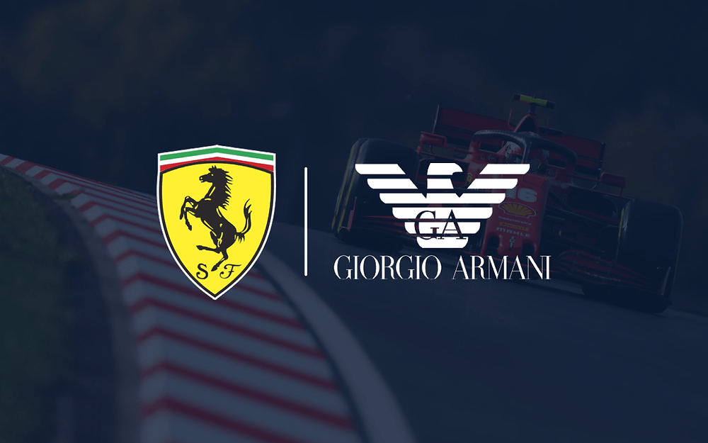 Ferrari F1 announce clothing partnership with Armani