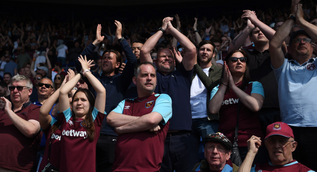 West Ham asking fans for pictures to build a crowd mosaic