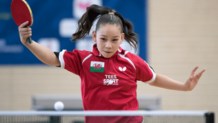 Table tennis star Anna Hursey to aid President Joe Biden in climate change fight