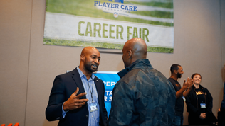 Careers fair supports former NFL players to find new jobs