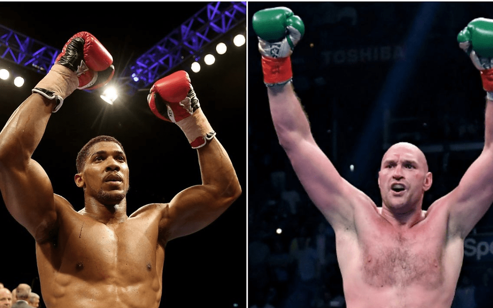 Anthony Joshua and Tyson Fury sign two-fight deal