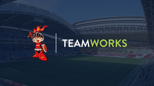 Kobelco Steelers announce partnership with Teamworks