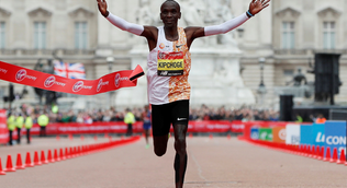 London Marathon switched to elite-athlete race in secure biosphere