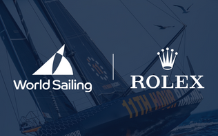 World Sailing extends partnership with Rolex