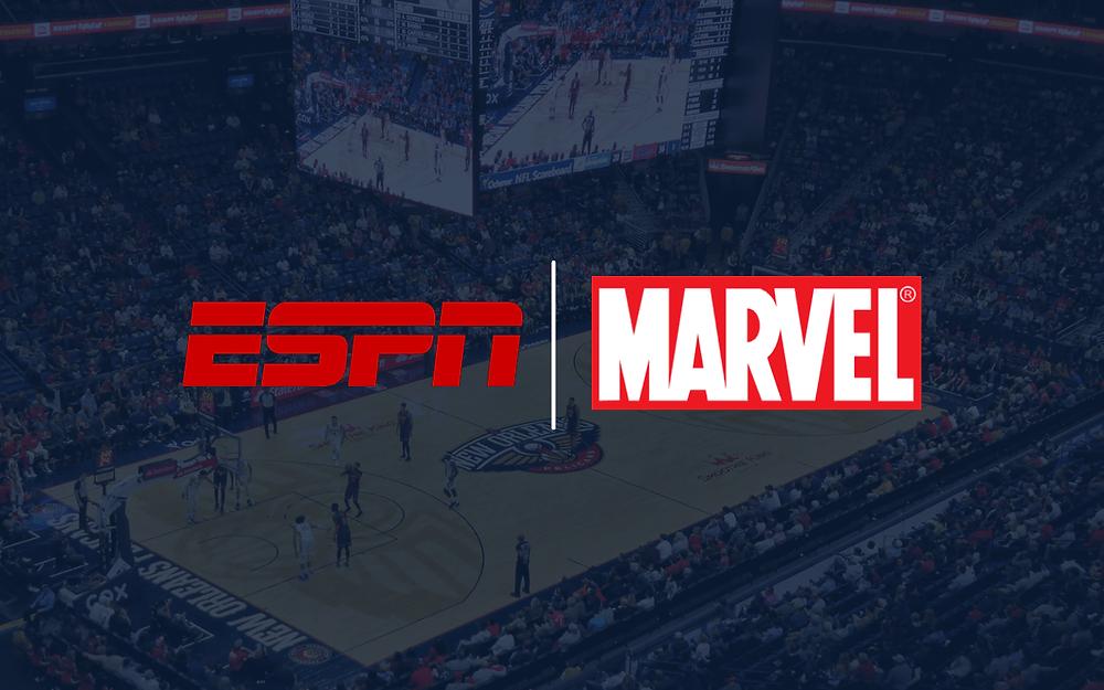 ESPN and Marvel partner for NBA telecast