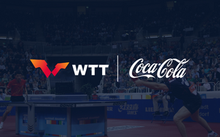 Coca-Cola becomes the first Official Partner of World Table Tennis