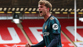 Patrick Bamford on his donation to a Leeds primary school