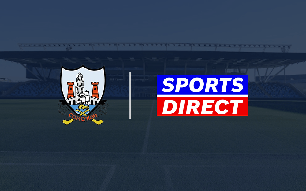 sports direct sponsor cork hurling and gaelic football team