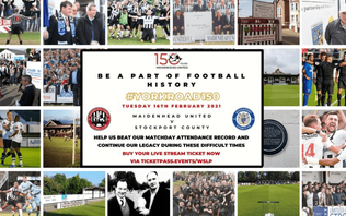 Maidenhead United celebrate 150 years at York Road