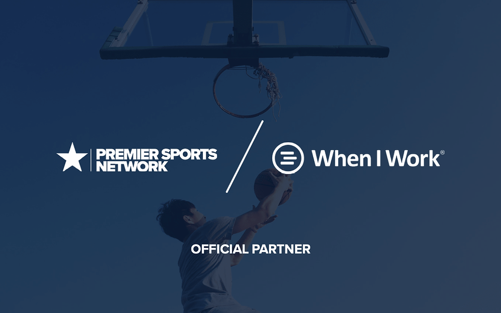 Premier Sports Network announces a new partnership with workforce management company When I Work