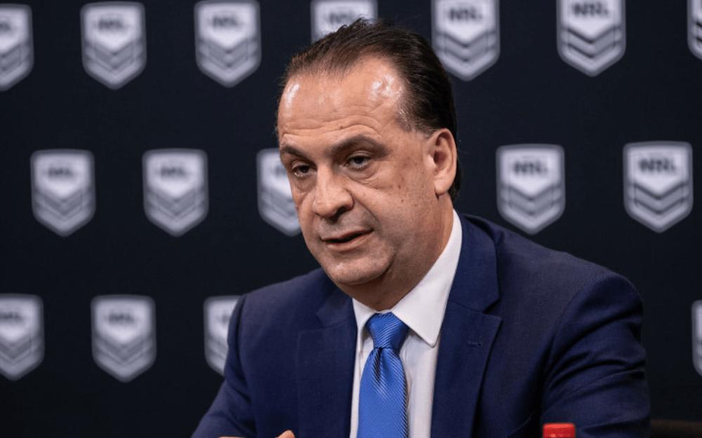NRL's Peter V'landys eyes second Brisbane team