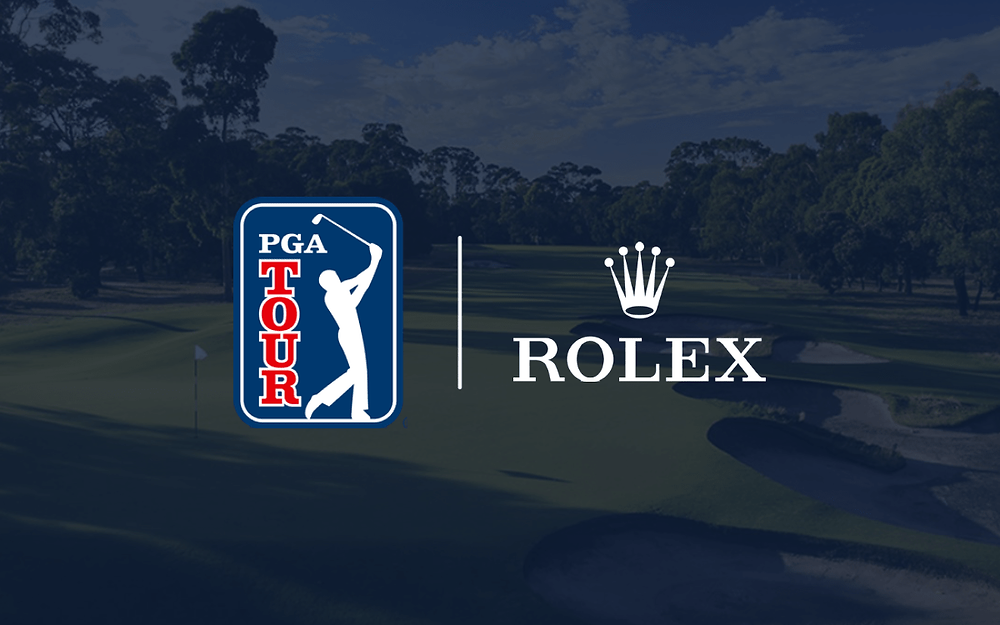 PGA sign deal with Rolex