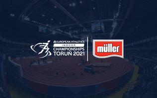 European Athletics announces partnership with Muller