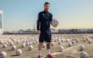 Adidas and Lionel Messi launch campaign to inspire the next generation