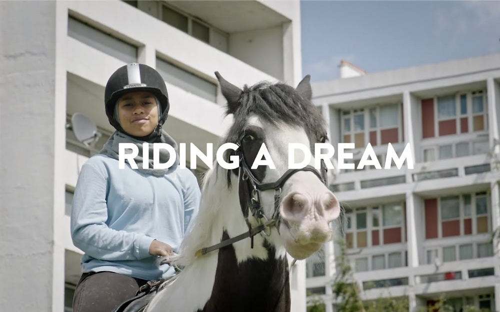 Scholarship formed as part of Riding A Dream Academy for riders from under-represented communities