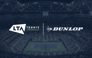 LTA builds on commercial programme with three-year Dunlop deal