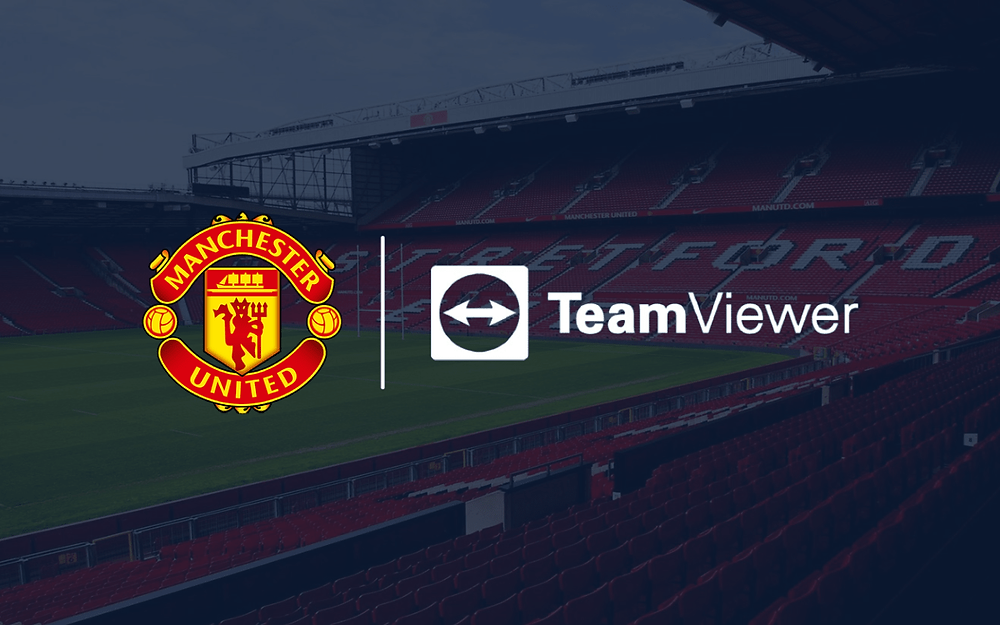 Manchester United announced TeamViewer as new shit sponsor