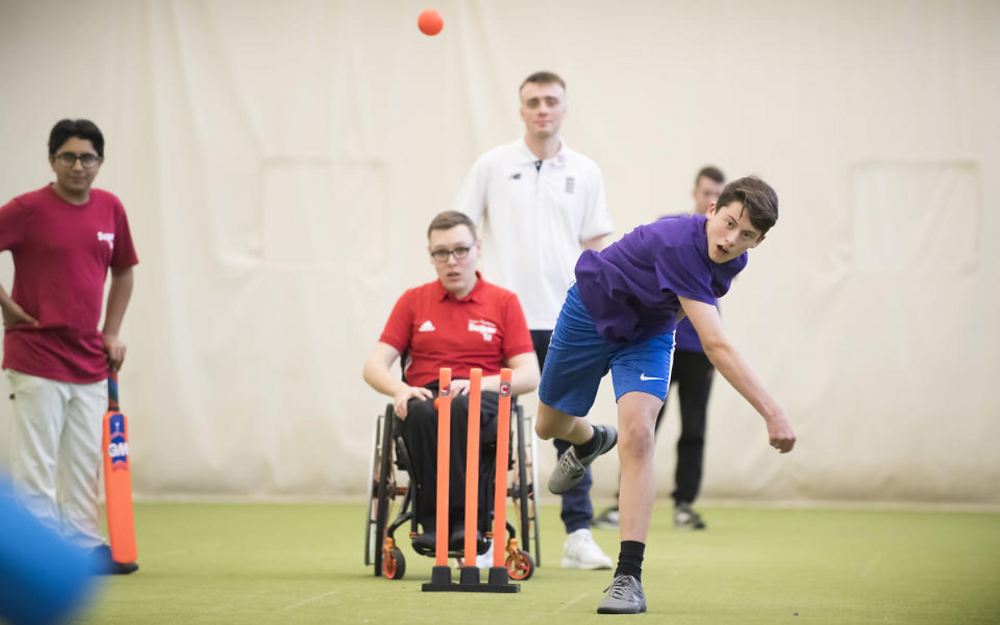 ECB works with Lord's Taverners to launch £2m initiative in disability cricket