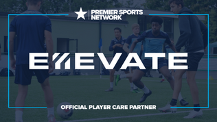 Premier Sports Network announce partnership with Ellevate Football as Official Player Care partner
