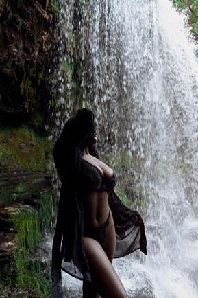 Meet me under the waterfall