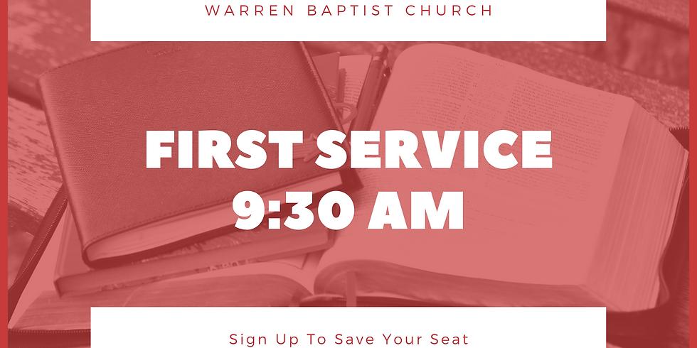 WBC 9:30AM Service