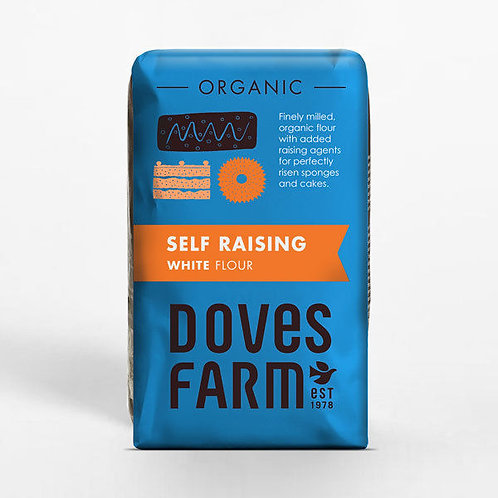 Doves Farm Organic Self Raising White Flour 1kg​​​​​​​
