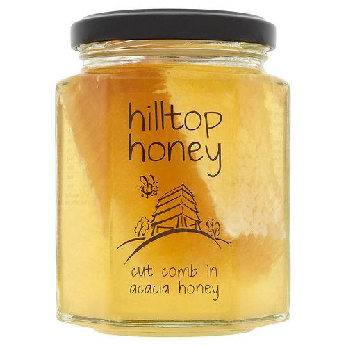 Hilltop Honey Cut Comb in Acacia Honey 340g