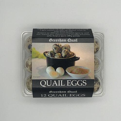 Greenham Quail Eggs - 12