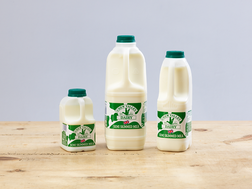 Chew Valley Dairy Semi-Skimmed Milk