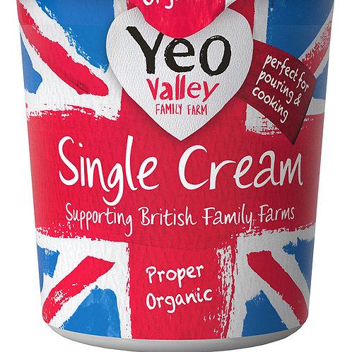 Yeo Valley Single Cream 227g