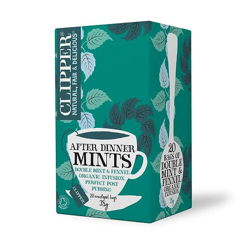 Clipper - Organic After Dinner Mints 20 Tea Bags