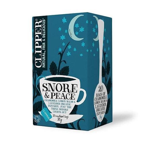 Clipper - Organic Snore & Peace 20 Tea Bags