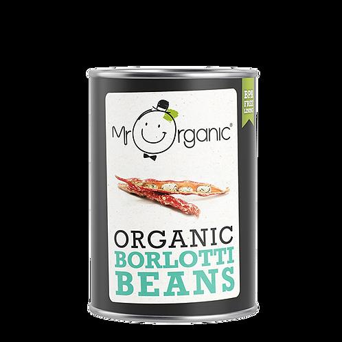 Organic Borlotti Beans (400g)