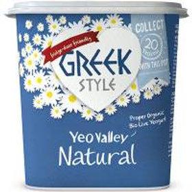 Yeo Valley Greek Natural Yoghurt 950g